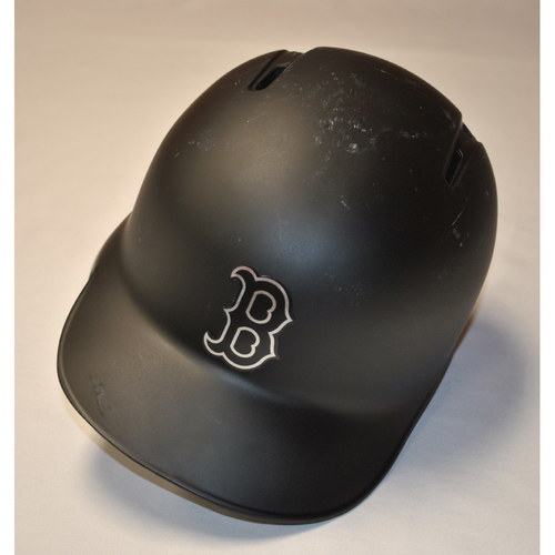 "Photo of Jackie ""JBJ"" Bradley Jr. Boston Red Sox Game-Used 2019 Players' Weekend Helmet"