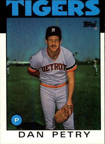 Photo of 1986 Topps #540 Dan Petry