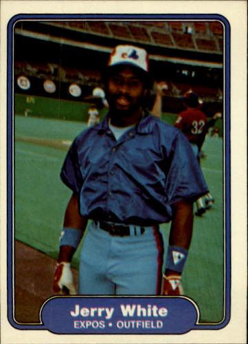 Photo of 1982 Fleer #211 Jerry White
