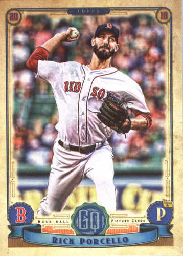 Photo of 2019 Topps Gypsy Queen #128 Rick Porcello