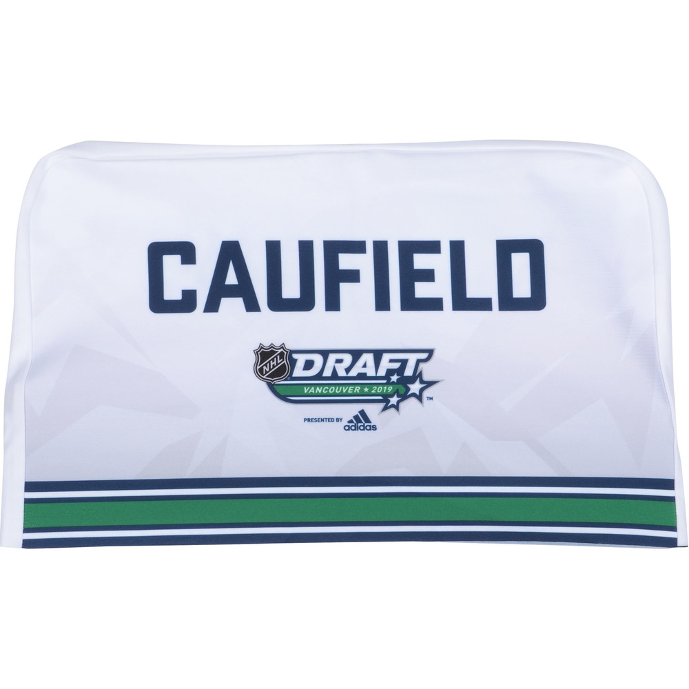 Cole Caufield Montreal Canadiens 2019 NHL Draft Seat Cover - Second set (Not Used)