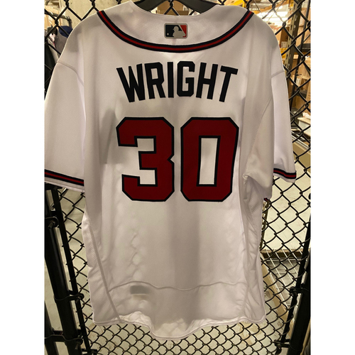 Photo of Kyle Wright Game Used Jersey - Opening Day 2020 - 7/29/20