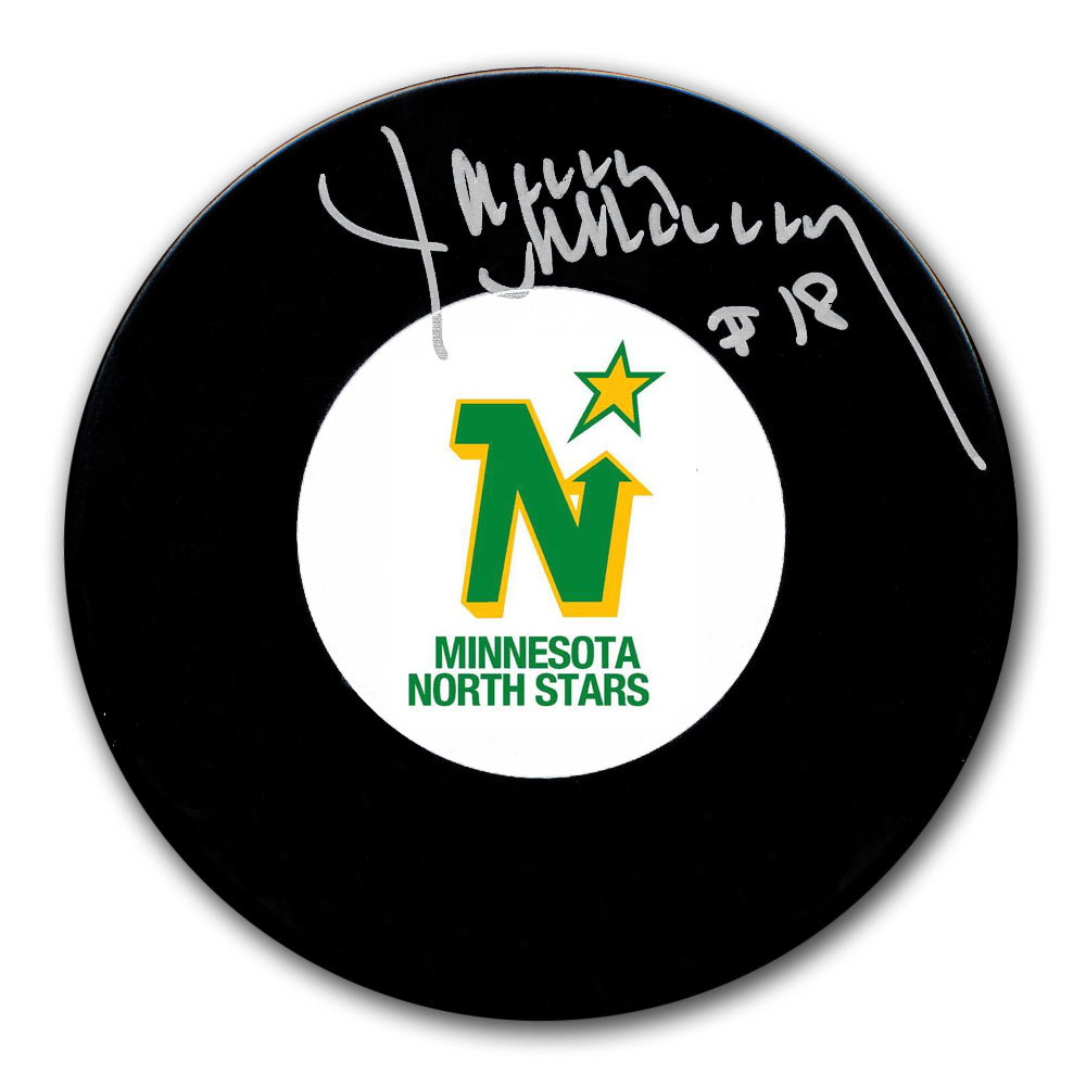 Jim McKenny Minnesota North Stars Autographed Puck