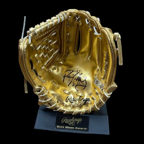 Photo of Paul Goldschmidt Autographed Mini Gold Glove