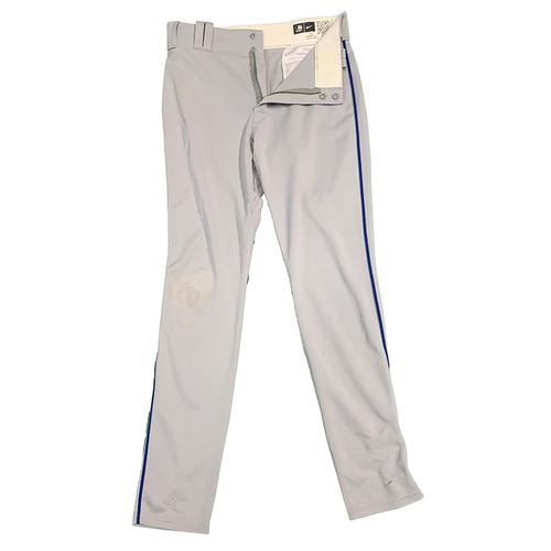 Jeff McNeil #6 - Team Issued Road Grey Pants - 2021 Season