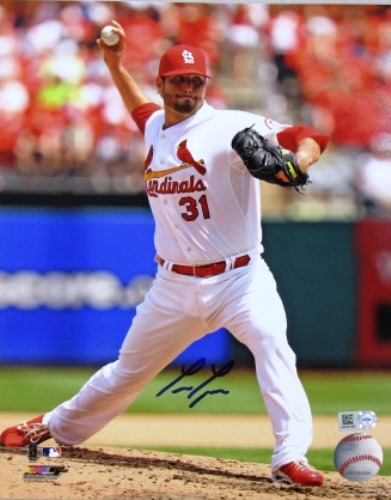 Photo of Lance Lynn Cardinals Delivery 8x10