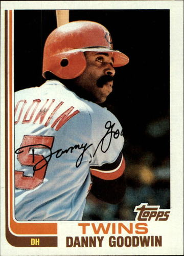 Photo of 1982 Topps #123 Danny Goodwin
