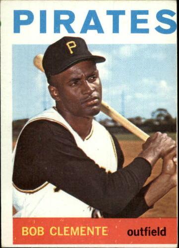 Photo of 1964 Topps #440 Roberto Clemente UER/1960 Pittsburfh