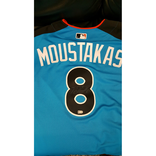 Mike Moustakas 2017 Major League Baseball Workout Day/Home Run Derby Autographed Jersey
