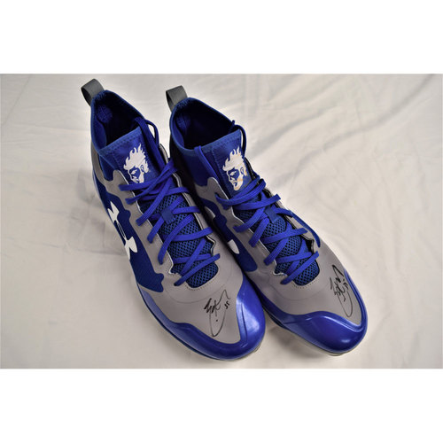 Eric Hosmer Autographed Cleats Benefitting Pet Pal Animal Shelter