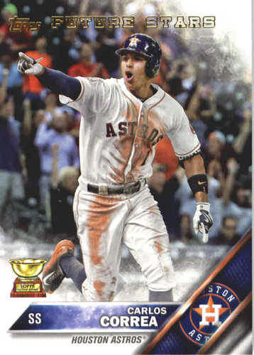Photo of 2017 Topps Update All Rookie Cup #ARC50 Carlos Correa -- REPRINT