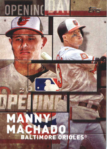 Photo of 2018 Topps Opening Day Insert #OD29 Manny Machado