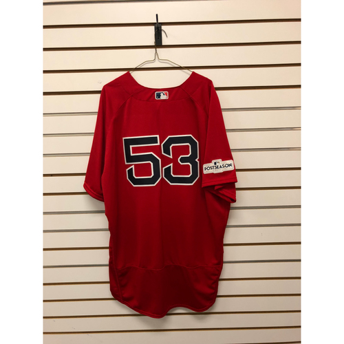 Photo of John Farrell Game-Used September 29, 2017 Home Alternate Jersey
