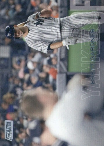 Photo of 2018 Stadium Club #157 Brett Gardner