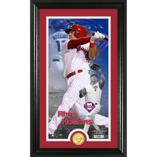 Photo of Rhys Hoskins Supreme Bronze Coin Photo Mint