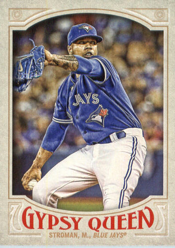 Photo of 2016 Topps Gypsy Queen #14A Marcus Stroman/Blue jersey