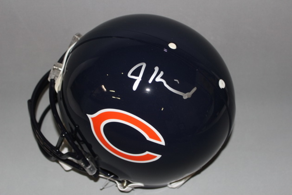 NFL - BEARS JORDAN HOWARD SIGNED BEARS PROLINE HELMET