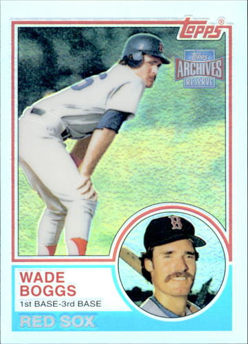 Photo of 2001 Topps Archives Reserve #7 Wade Boggs 83