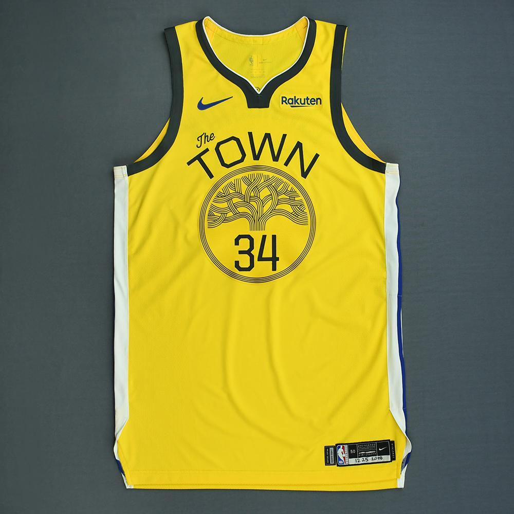 9ac1bb8ca1f Shaun Livingston - Golden State Warriors - Christmas Day  18 - Game-Worn  Earned