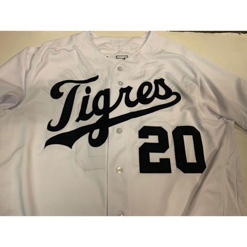 Photo of Team-Issued Fiesta Tigres Jersey: Lloyd McClendon