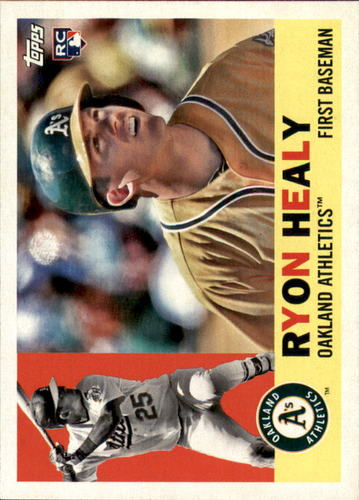 Photo of 2017 Topps Archives #63 Ryon Healy Rookie Card