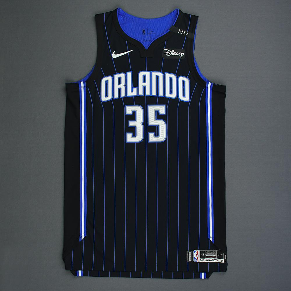Melvin Frazier Jr. - Orlando Magic - Game-Worn Statement Edition Jersey - Dressed, Did Not Play - 2019 Playoffs