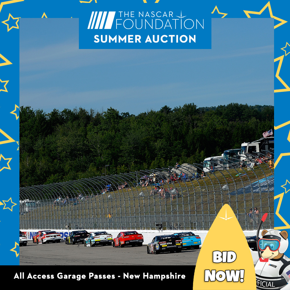 All Access Garage Passes at New Hampshire!