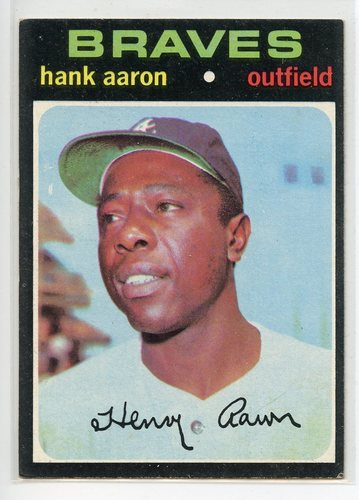 Photo of 1971 Topps #400 Hank Aaron