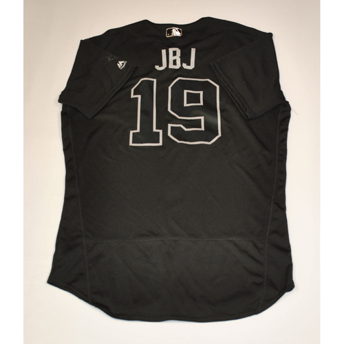 "Photo of Jackie ""JBJ"" Bradley Jr. Boston Red Sox Game-Used 2019 Players' Weekend Jersey"