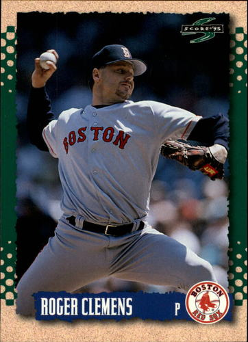 Photo of 1995 Score #118 Roger Clemens