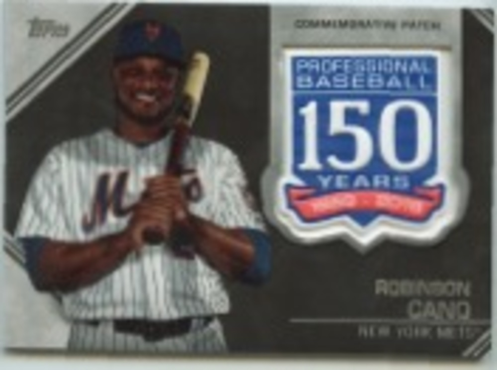 2019 Topps Update 150th Anniversary Manufactured Patches #AMPRC Robinson Cano