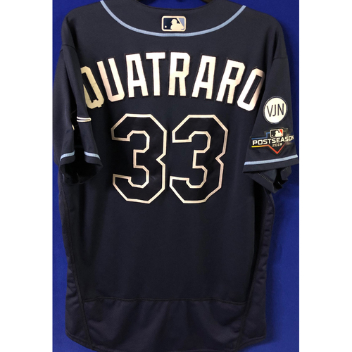 Photo of Game Used Postseason Jersey (WC/ALDS): Matt Quatraro- October 2 (OAK) & October 10 (HOU)