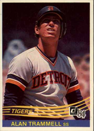 Photo of 1984 Donruss #293 Alan Trammell