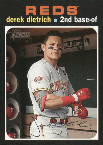 Photo of 2020 Topps Heritage #6 Derek Dietrich