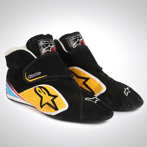Photo of Jolyon Palmer 2016 Race-worn Race Boots