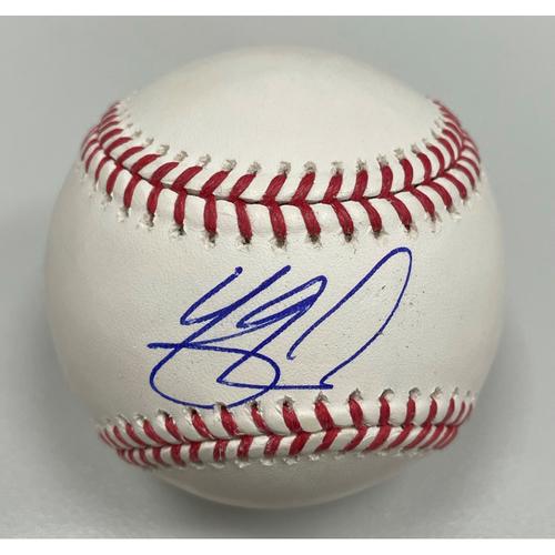 Photo of Yasmani Grandal Autographed Baseball