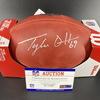 NFL - Seahawks Tyler Ott Signed Authentic Football