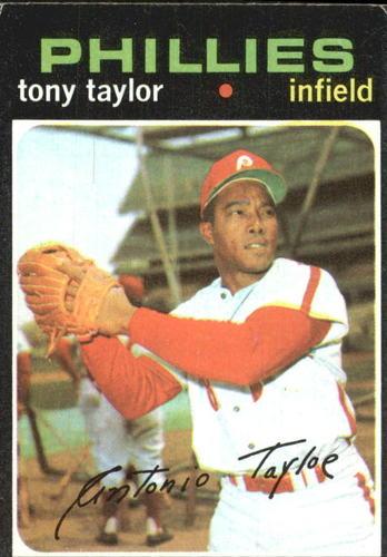 Photo of 1971 Topps #246 Tony Taylor