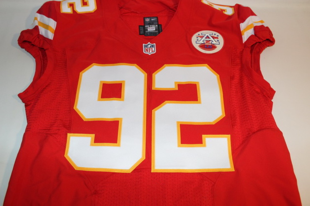 NFL Auction | STS CHIEFS DONTARI POE GAME ISSUED AND SIGNED CHIEFS ...