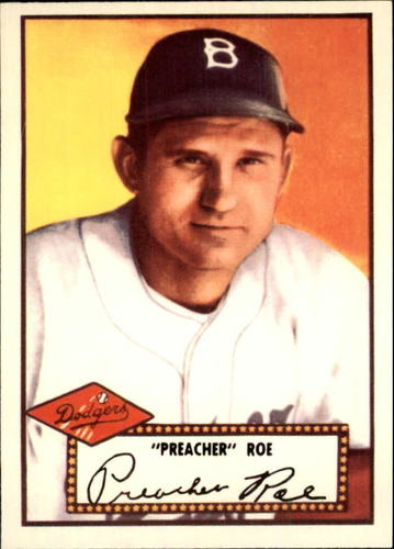 Photo of 1983 Topps 1952 Reprint #66 Preacher Roe