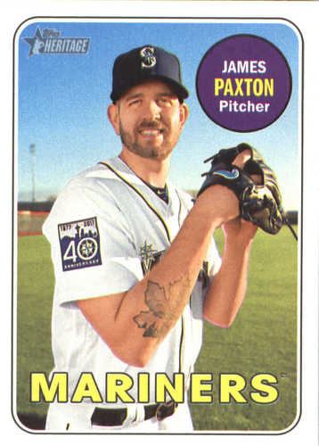 Photo of 2018 Topps Heritage #69 James Paxton