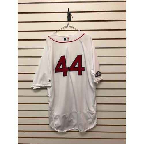 Photo of Chili Davis Game-Used October 10, 2016 Home Jersey