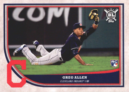 Photo of 2018 Topps Big League #279 Greg Allen RC