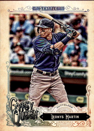 Photo of 2017 Topps Gypsy Queen #70 Leonys Martin