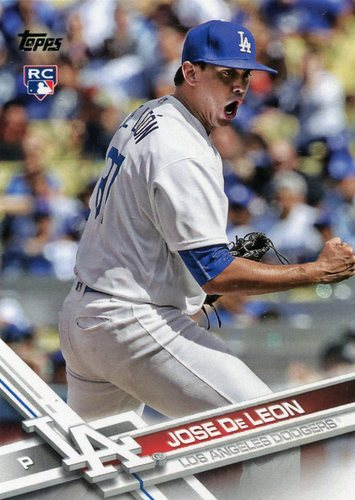 Photo of 2017 Topps #269 Jose De Leon RC