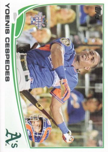 Photo of 2013 Topps Update #US7A Yoenis Cespedes