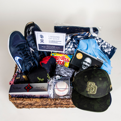 "Photo of Craig Stammen ""Favorite Things"" Basket"