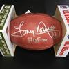 HOF - Cowboys Tony Dorsett Signed Authentic Football