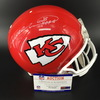 HOF - Chiefs Will Shields Signed Proline Helmet