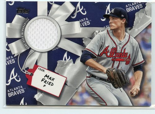 Photo of 2019 Topps Walmart Holiday Relics #WHRMF Max Fried
